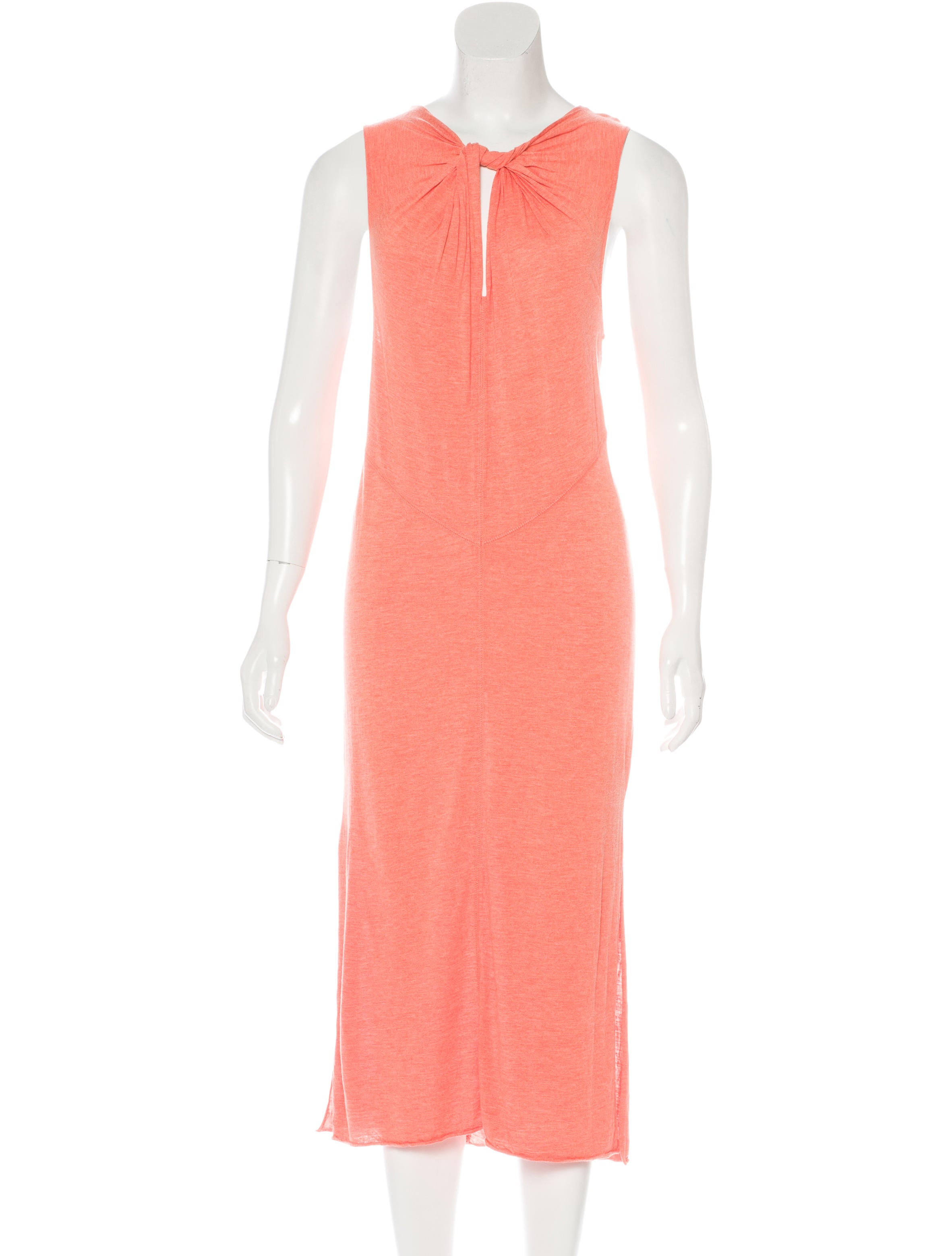 Derek lam 10 crosby sleeveless midi dress clothing for Derek lam 10 crosby shirt dress