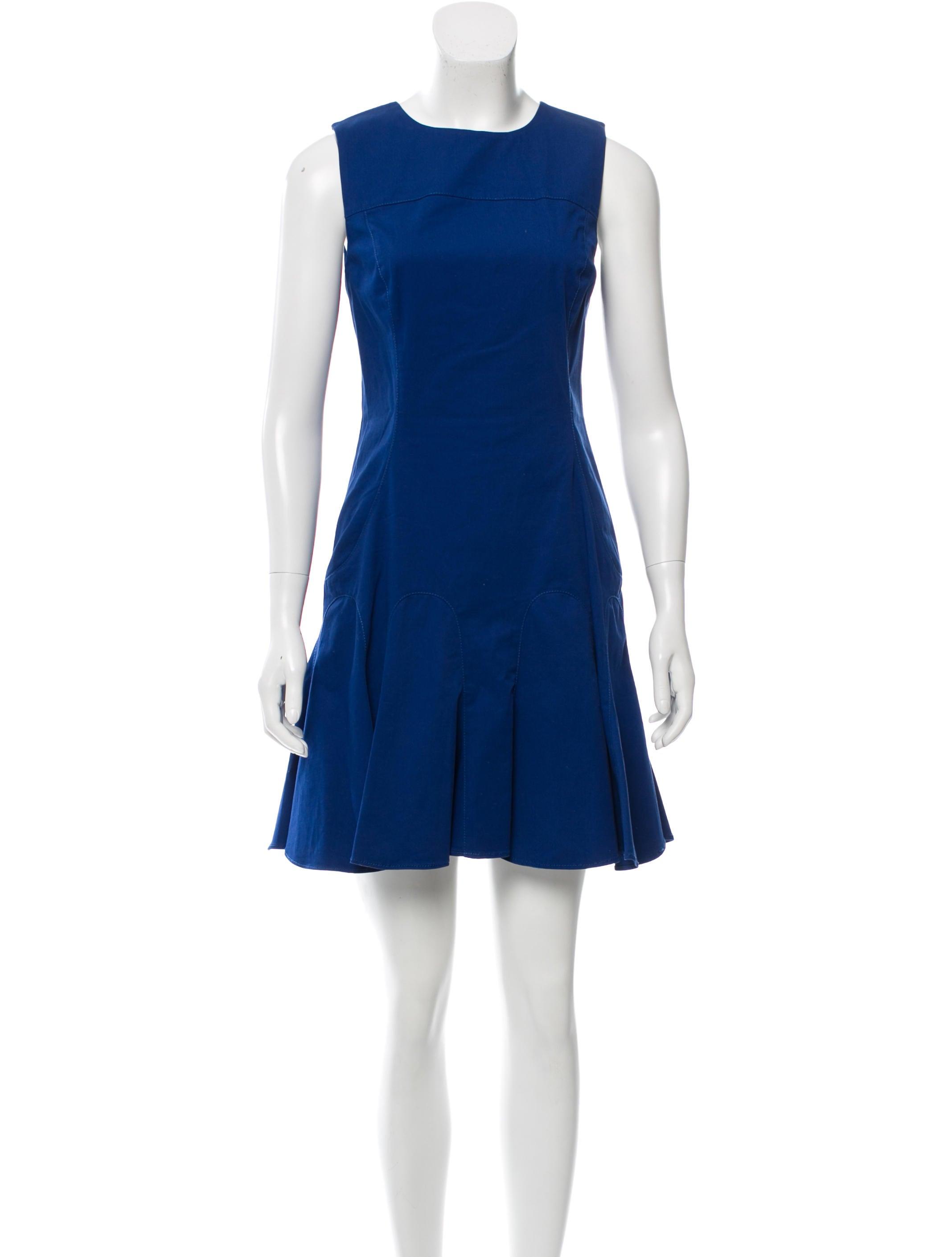 Derek Lam 10 Crosby Sleeveless Mini Dress Clothing