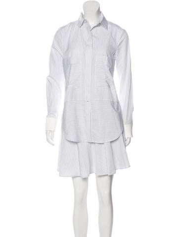 Derek lam 10 crosby striped shirt dress w tags clothing for Derek lam 10 crosby shirt dress