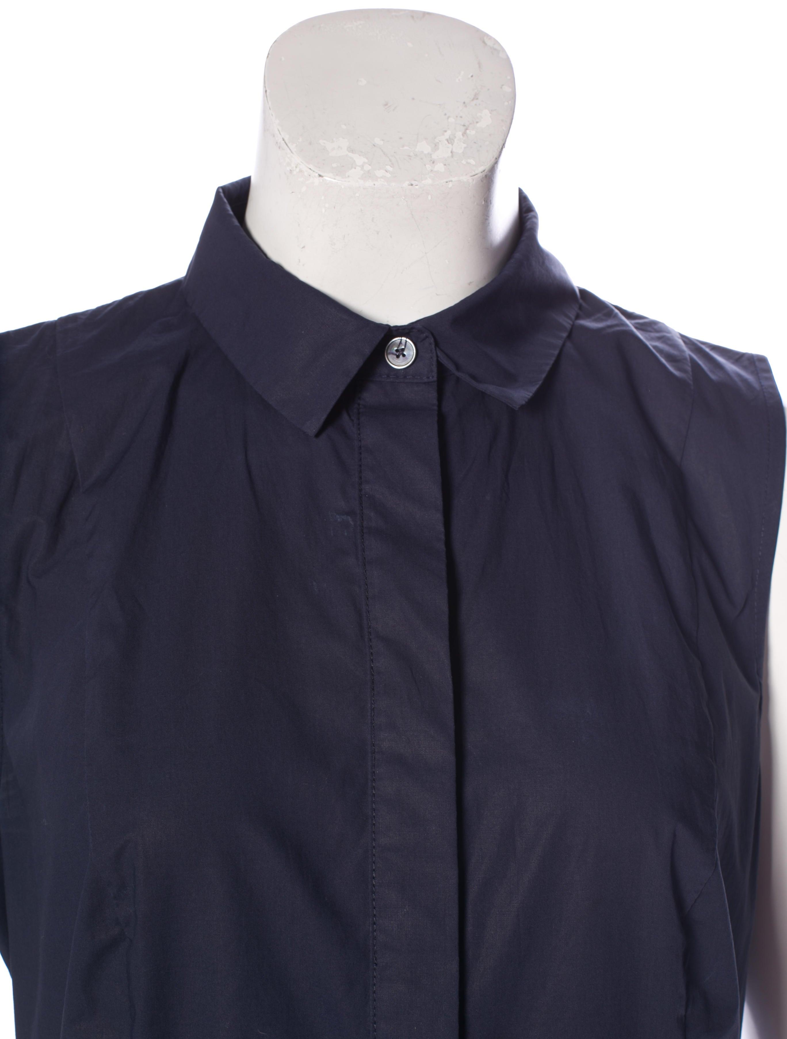 Derek Lam 10 Crosby Pleated Shirt Dress Clothing