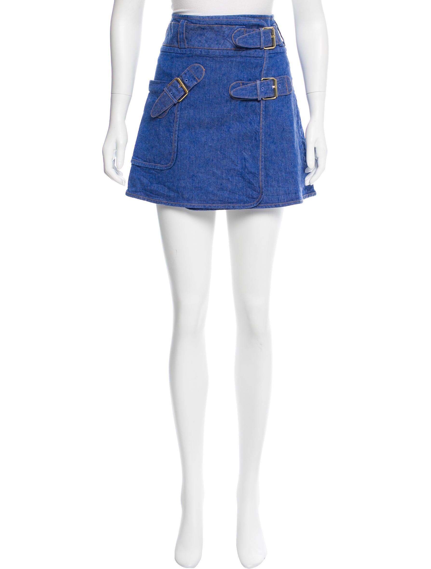 derek lam 10 crosby linen a line skirt clothing