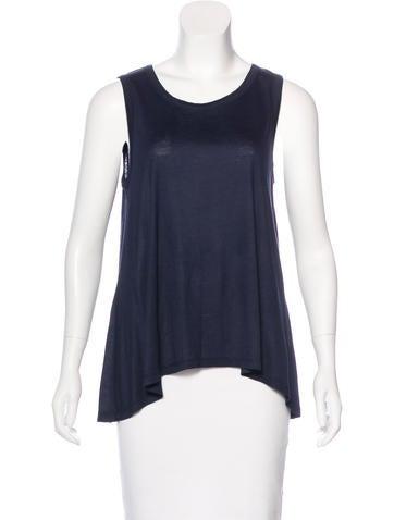 Derek Lam 10 Crosby Sleeveless T-Shirt None
