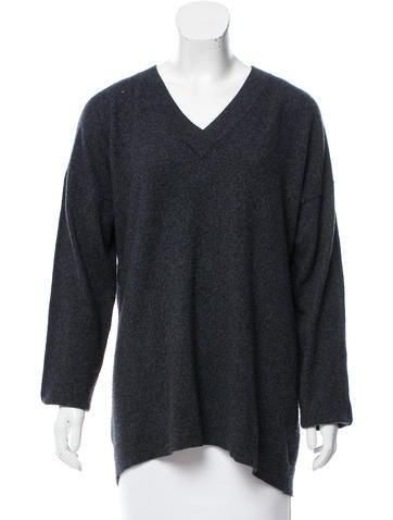 Derek Lam 10 Crosby Cashmere Mélange Sweater None