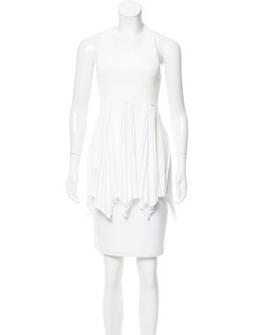 Derek Lam 10 Crosby Rib Knit Sleeveless Top w/ Tags None
