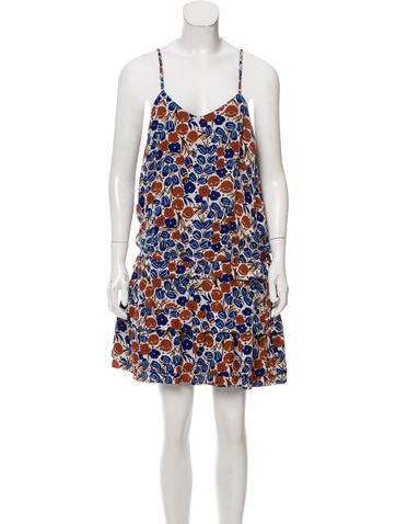 Derek lam 10 crosby printed mini dress clothing for Derek lam 10 crosby shirt dress