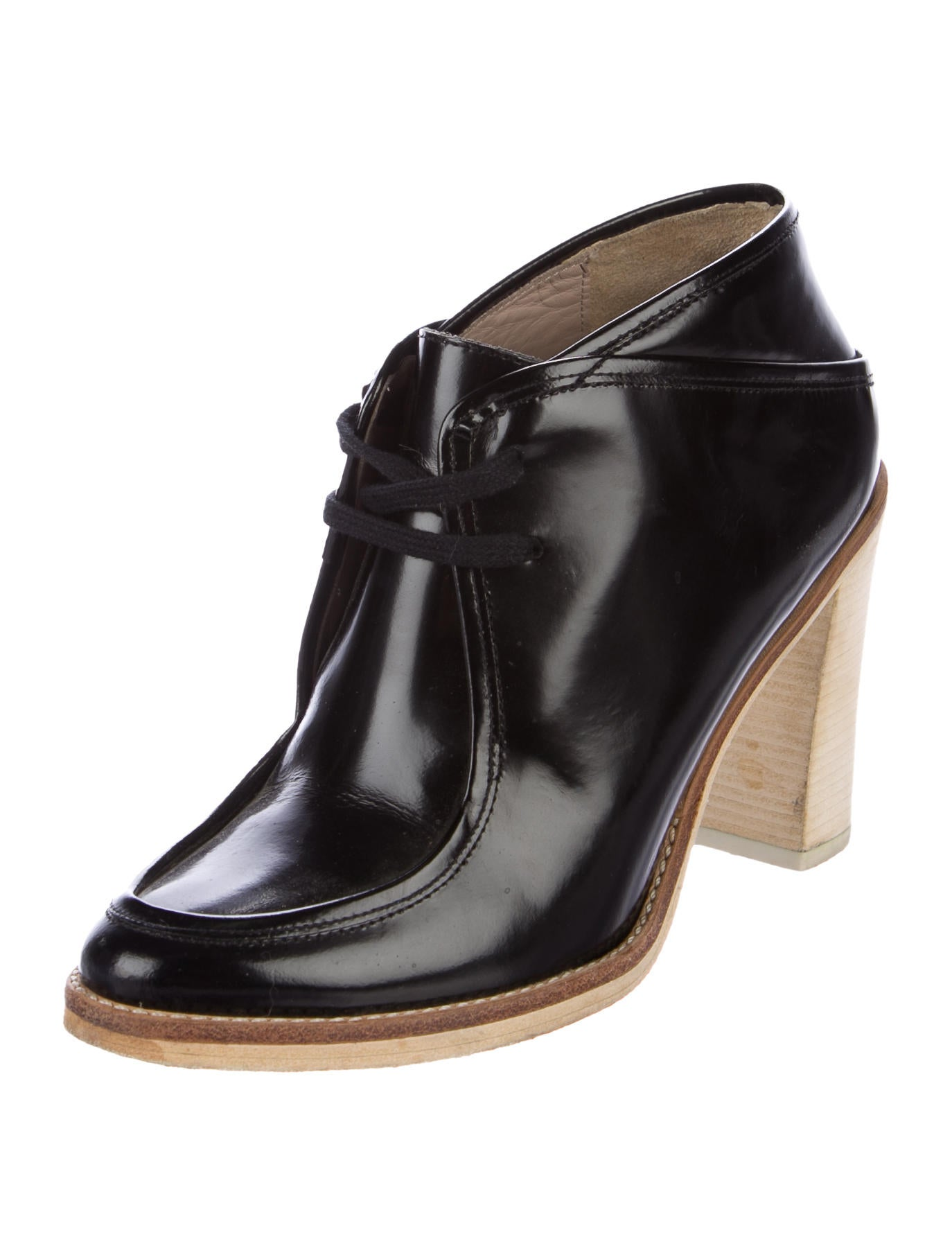 shipping discount authentic enjoy cheap online Derek Lam 10 Crosby Leather Lace-Up Ankle Boots tbScBGVV7t