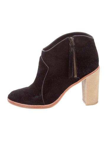 Derek Lam 10 Crosby Suede Ankle Boots None