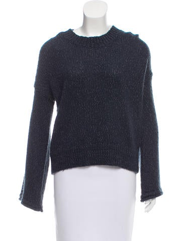 Derek Lam 10 Crosby Scoop-Neck Sweater w/ Tags None