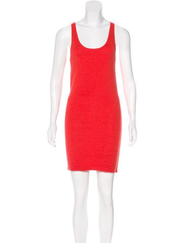 Derek Lam 10 Crosby Knit Mini Dress None