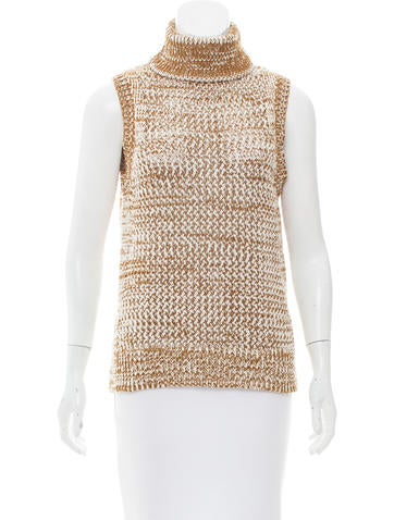 Derek Lam 10 Crosby Sleeveless Turtleneck Sweater w/ Tags None