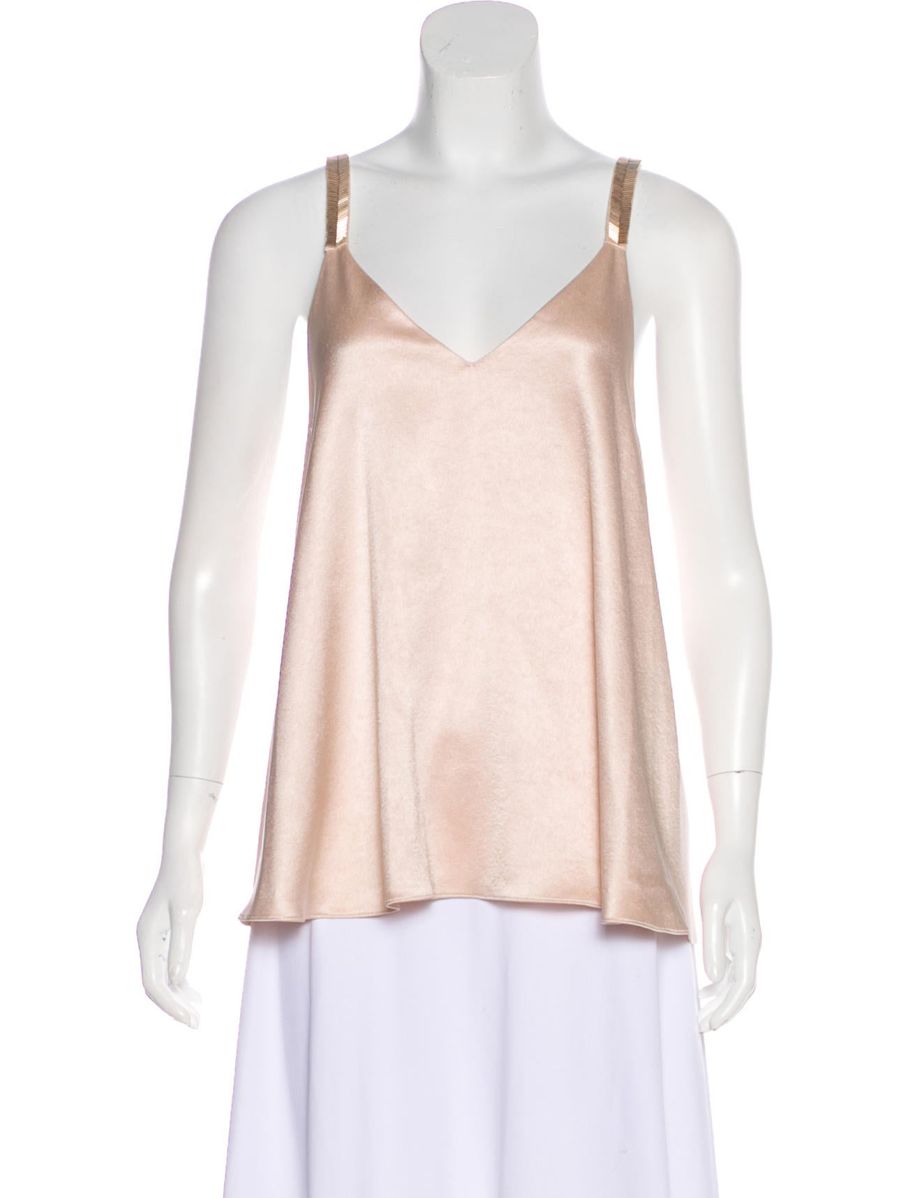 Derek Lam 10 Crosby Embellished Satin Top Amazon Cheap Price Discount Purchase Cheap Sale With Mastercard Recommend Cheap pz4XM