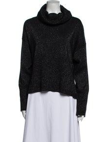 Derek Lam 10 Crosby Merino Wool Turtleneck Sweater