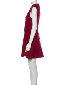Derek Lam 10 Crosby Mock Neck Mini Dress