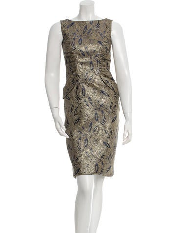 David Meister Sleeveless Sheath Dress