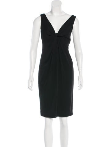David Meister Sleeveless Knee-Length Dress