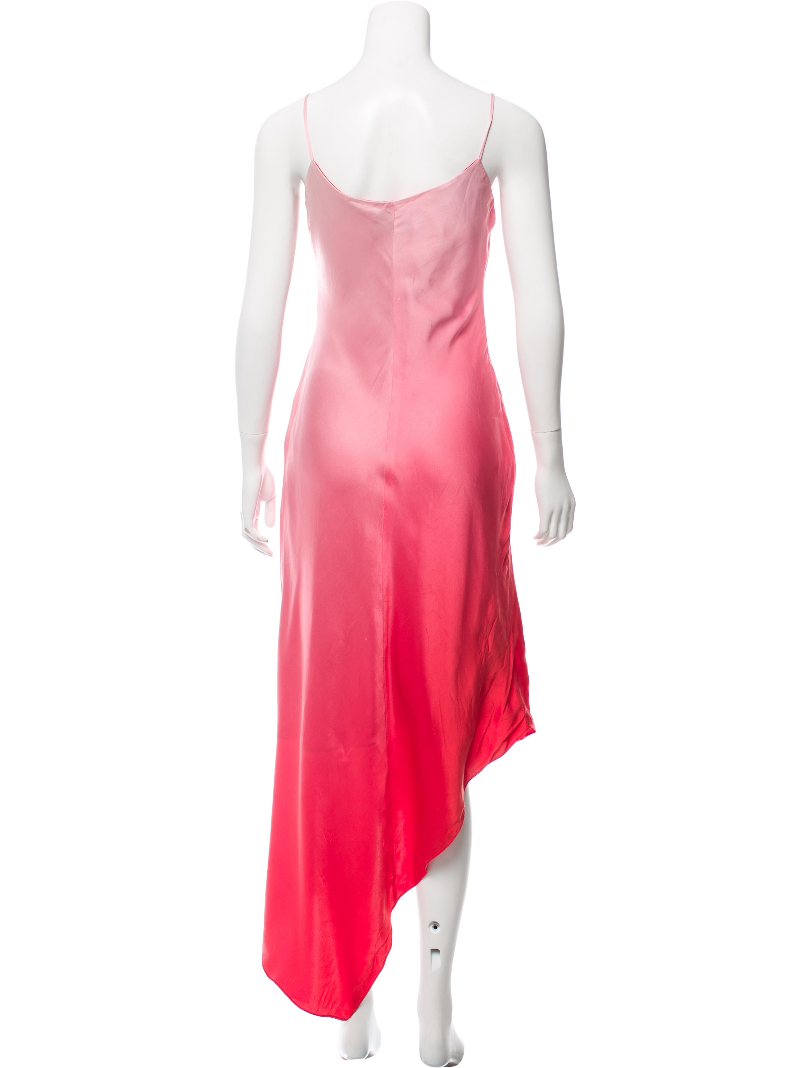 David Meister Silk Ombré Dress - Clothing - WDM25155 | The RealReal