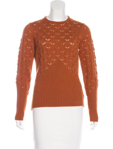David Meister Wool Knit Sweater None