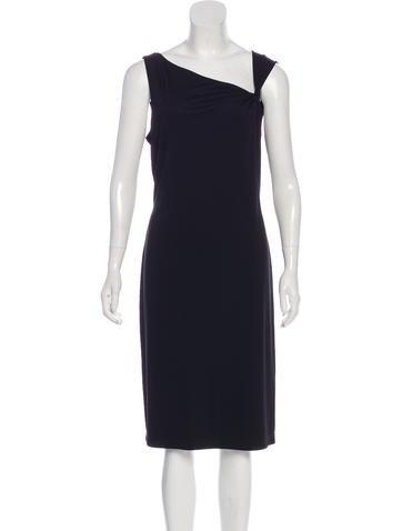 f3f6be16d9 David Meister. Sleeveless Midi Dress