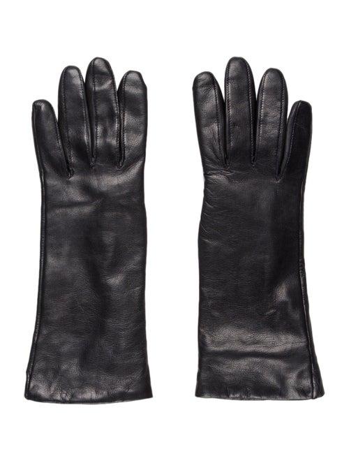 Dents Leather Gloves Black