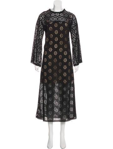 Semi-Sheer Maxi Dress