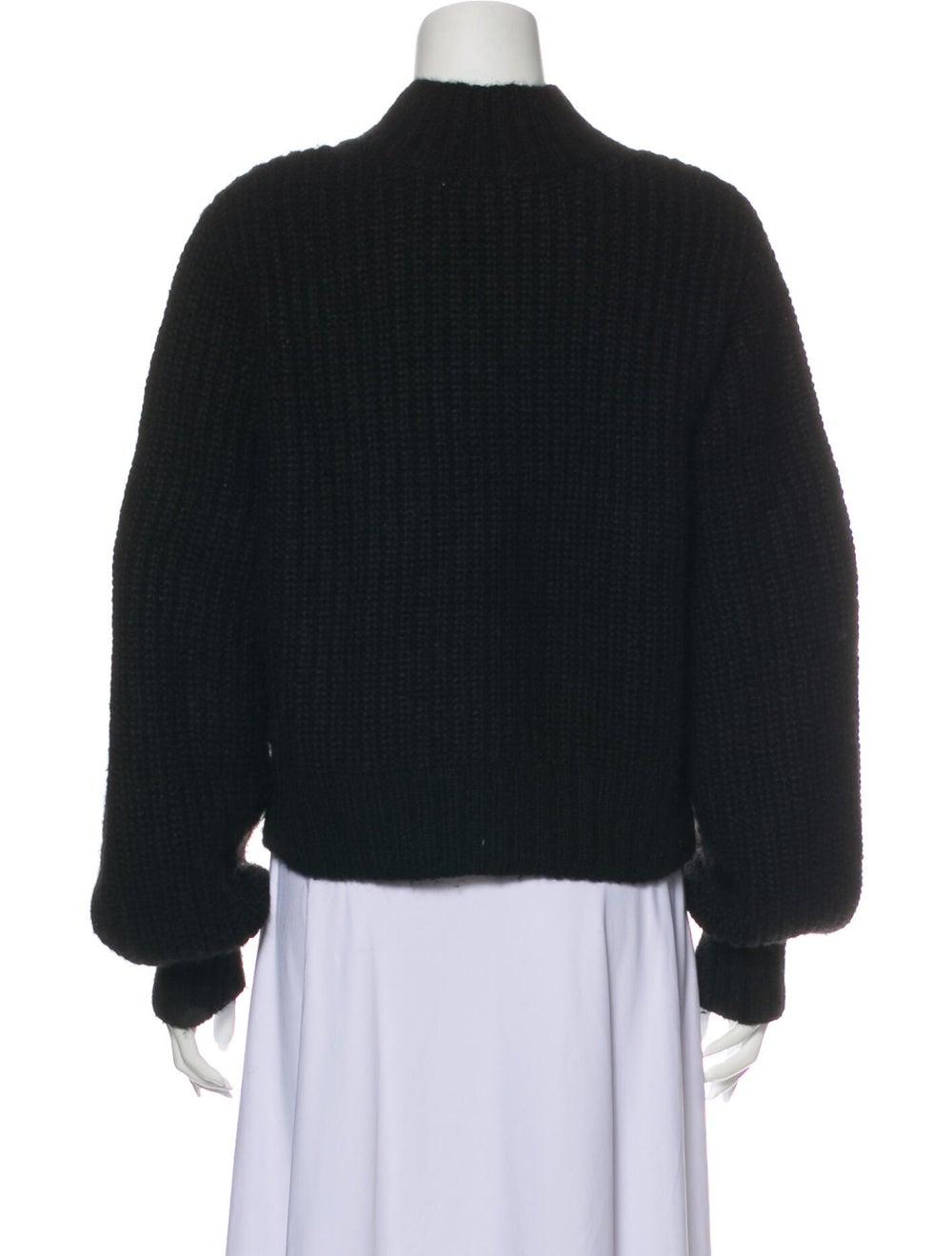 Dôen Mock Neck Sweater Black - image 3