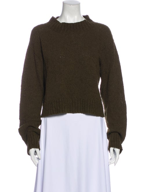 Dôen Mock Neck Sweater Green