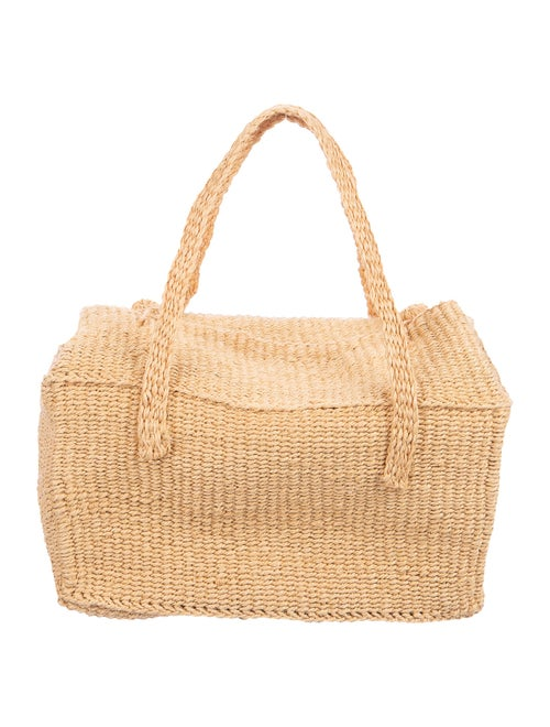 Dôen Straw Woven Shoulder Bag