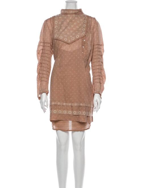 Dôen Turtleneck Mini Dress