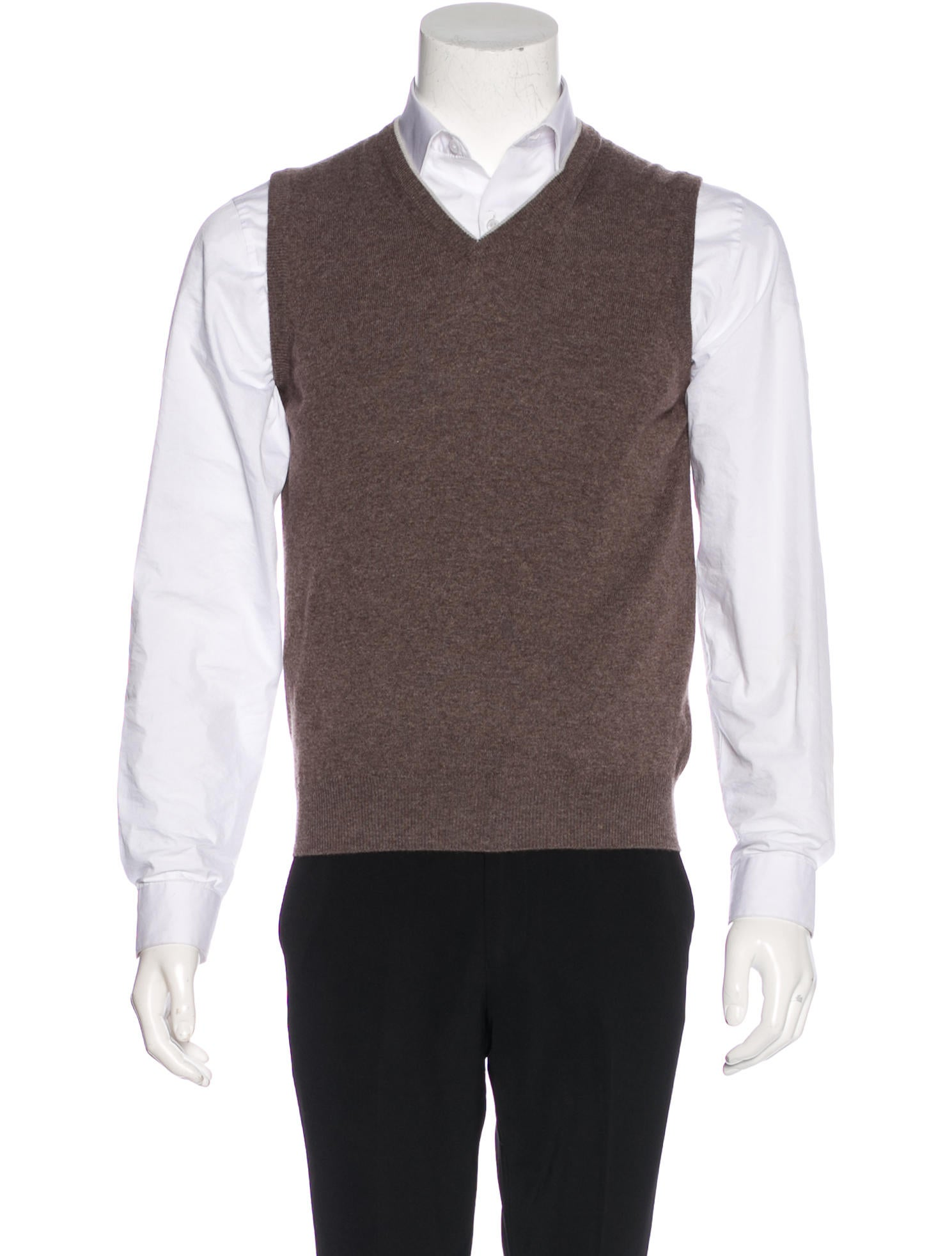 Doriani Cashmere Sweater Vest - Clothing - WDORN20006 | The RealReal