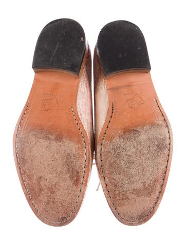 Embossed Derby Shoes