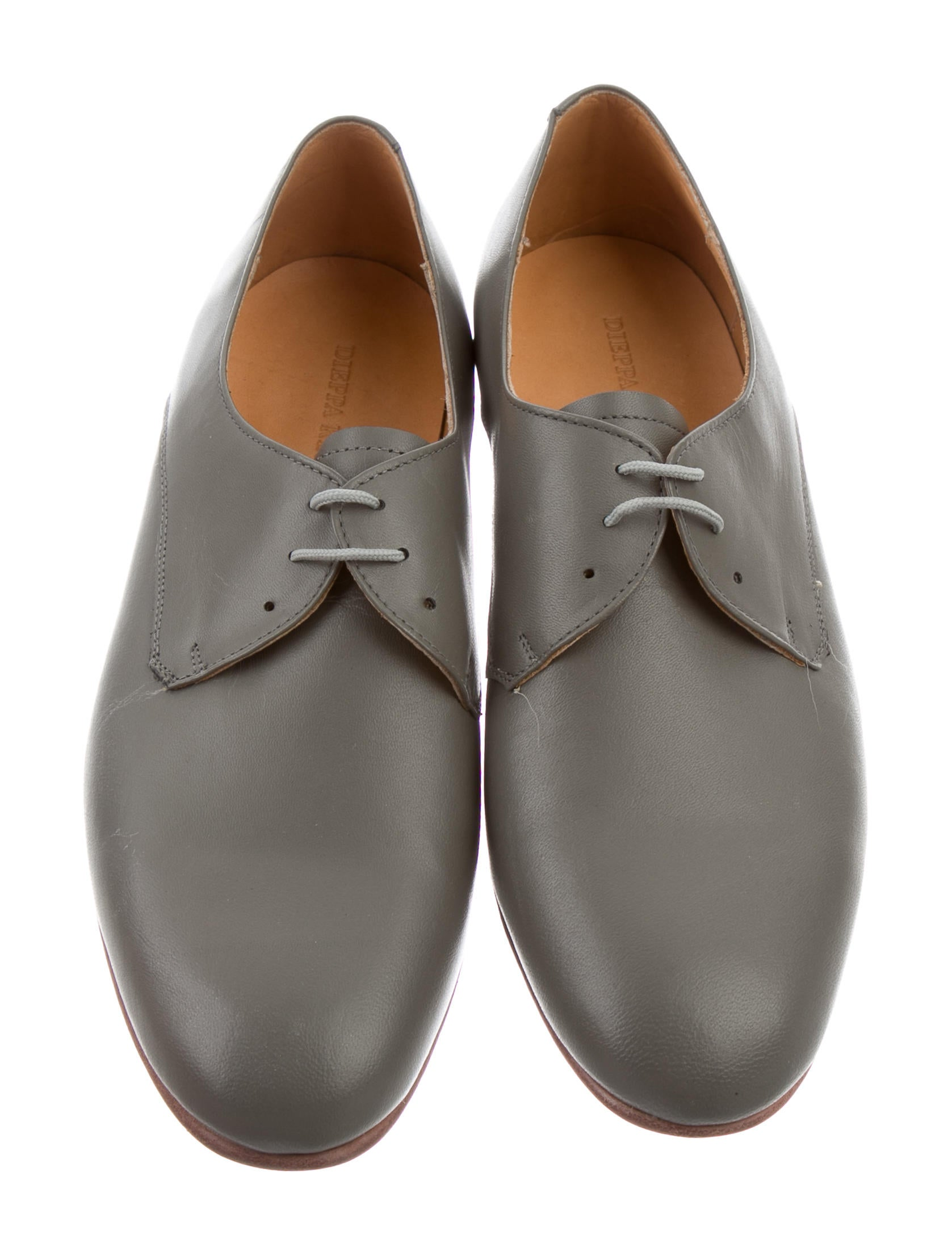 visit cheap price sale pay with visa Dieppa Restrepo Leather Round-Toe Oxfords w/ Tags free shipping exclusive Vnl50j0t