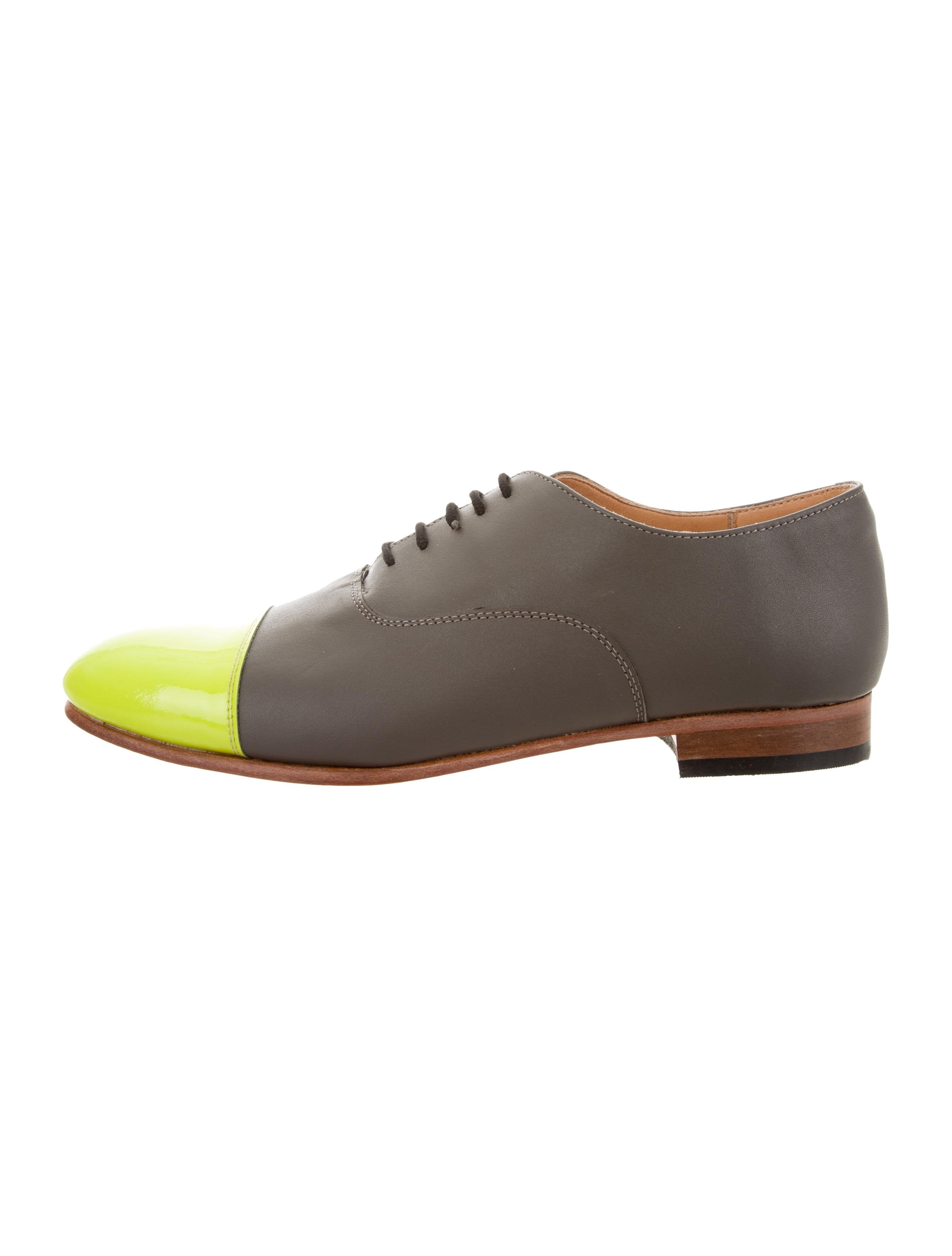 clearance sast Dieppa Restrepo Leather Cap-Toe Oxfords w/ Tags discount codes clearance store buy cheap original discount authentic online xveK38j4