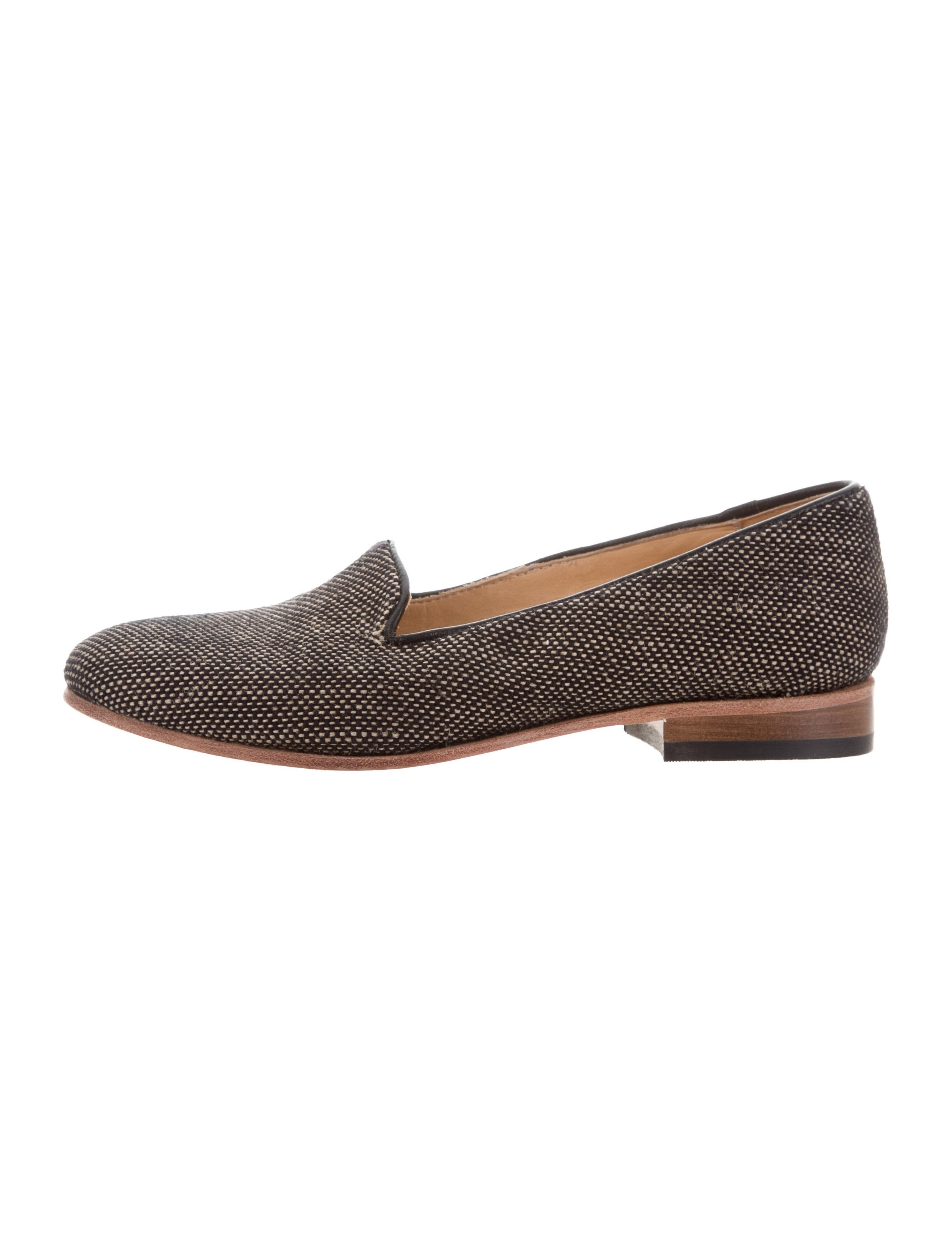 Dieppa Restrepo Canvas Round-Toe Loafers shopping online cheap online 2014 unisex cheap price free shipping buy factory outlet cheap online free shipping recommend NoMDgMH