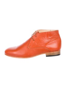 c0c098e067a Dieppa Restrepo. Leather Ankle Boots