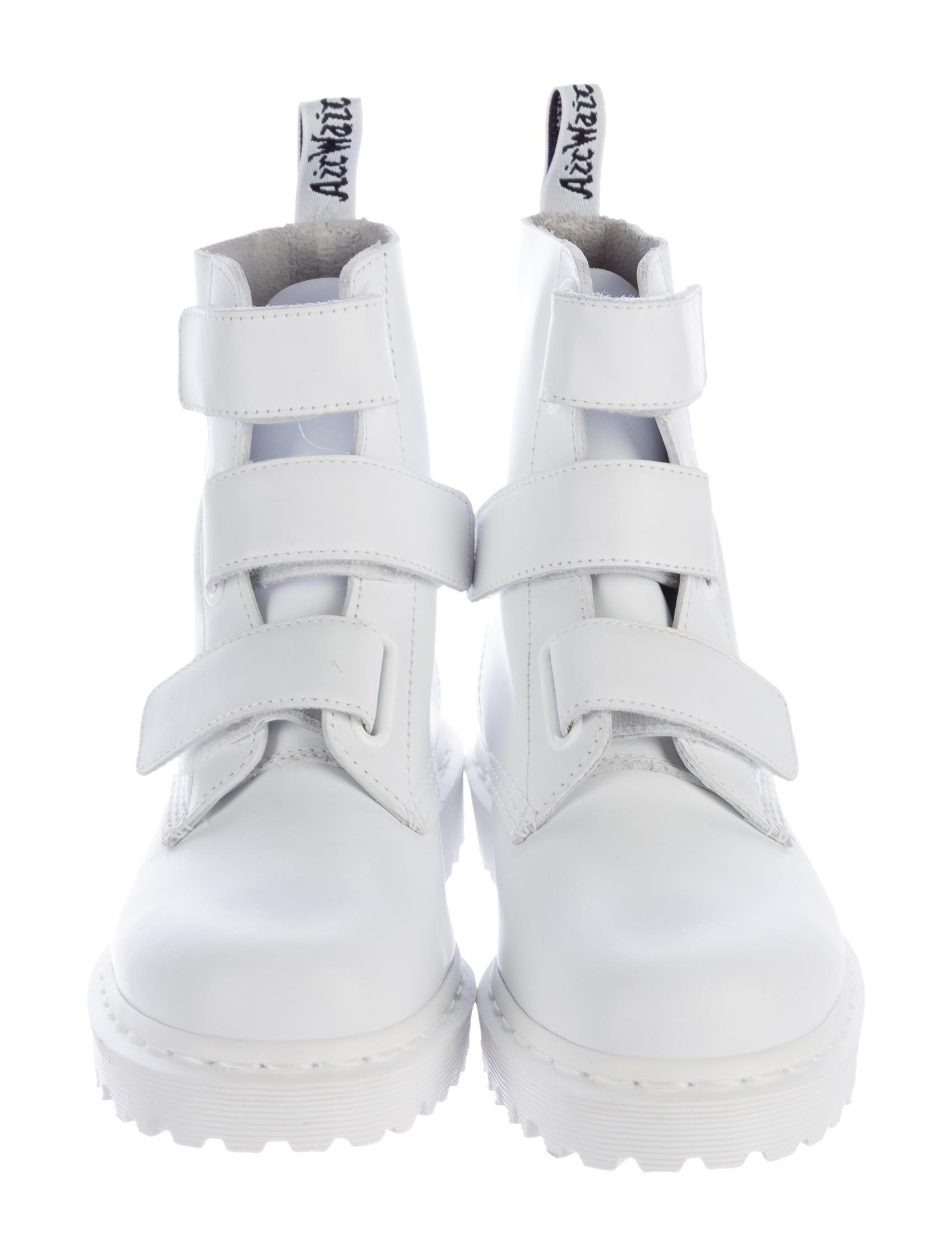Dr. Martens Coralia (White Venice) Women's Boots ($98