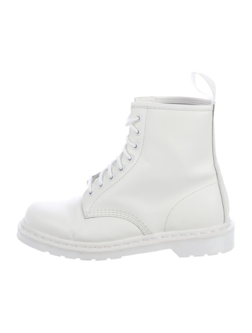Dr. Martens Talib Leather Boots white