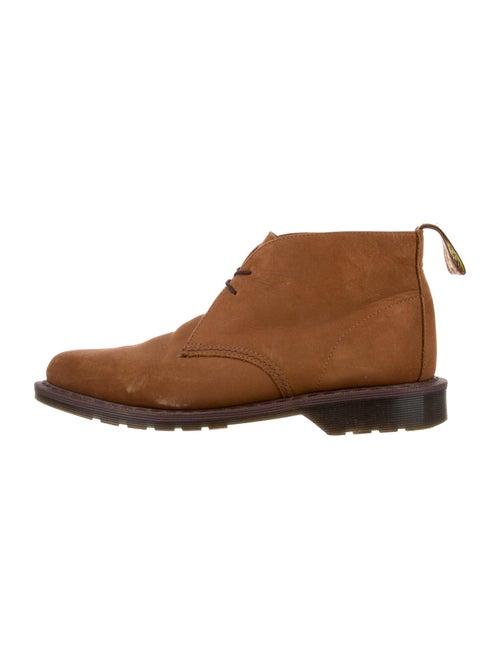 Dr. Martens Nubuck Lace-Up Boots Brown