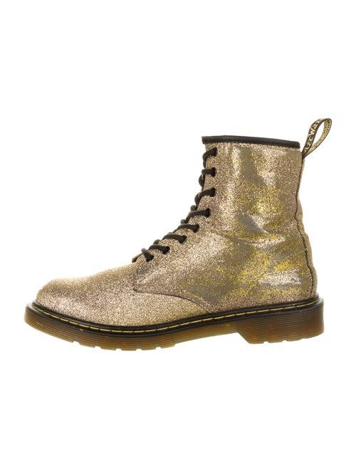 Dr. Martens Combat Boots Gold