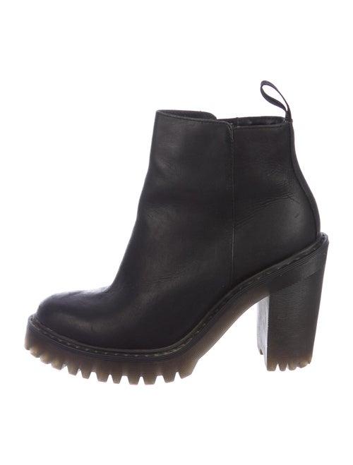 Dr. Martens Leather Boots Black