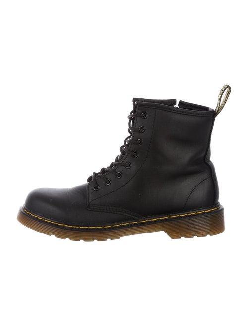 Dr. Martens Leather Combat Boots Black