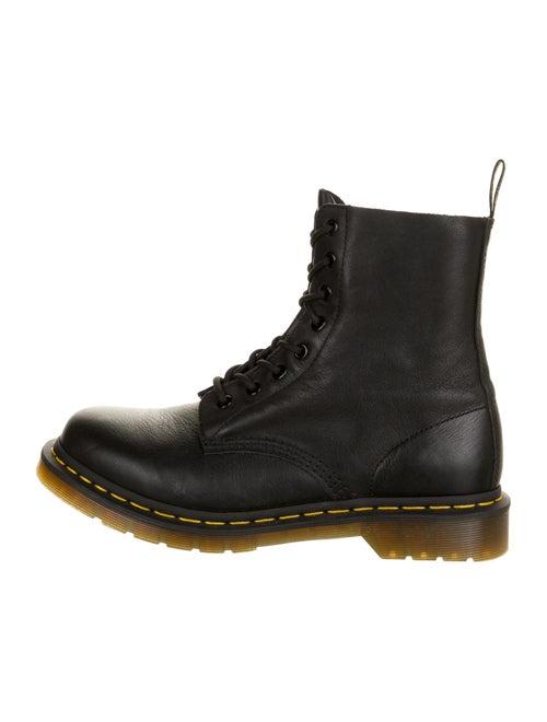 Dr. Martens Pascal Leather Combat Boots Black