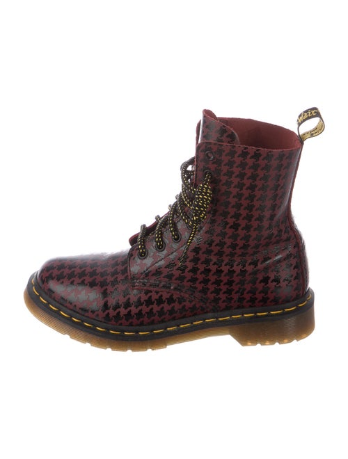 Dr. Martens Clemency Patent Leather Combat Boots