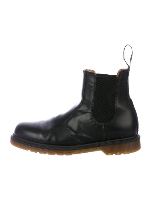 Dr. Martens Patent Leather Chelsea Boots Black