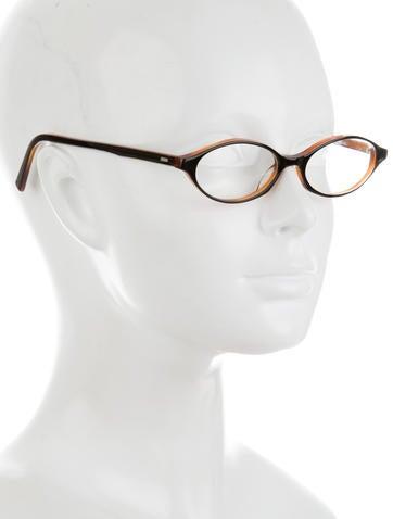 Dita Narrow Round Eyeglasses - Accessories - WDT20391 ...