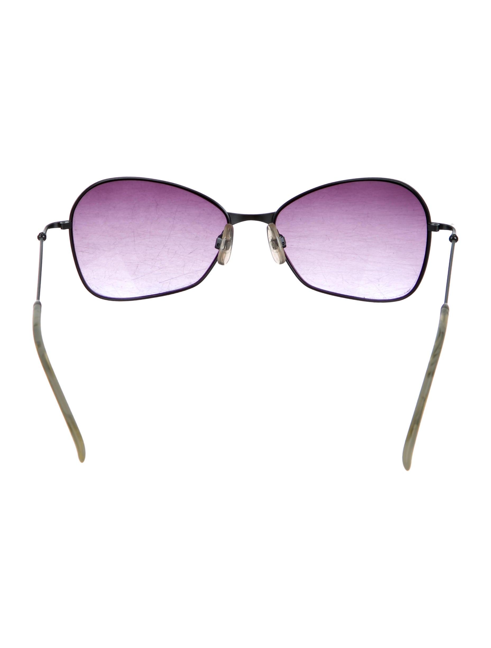 dita metallic tinted lens sunglasses accessories