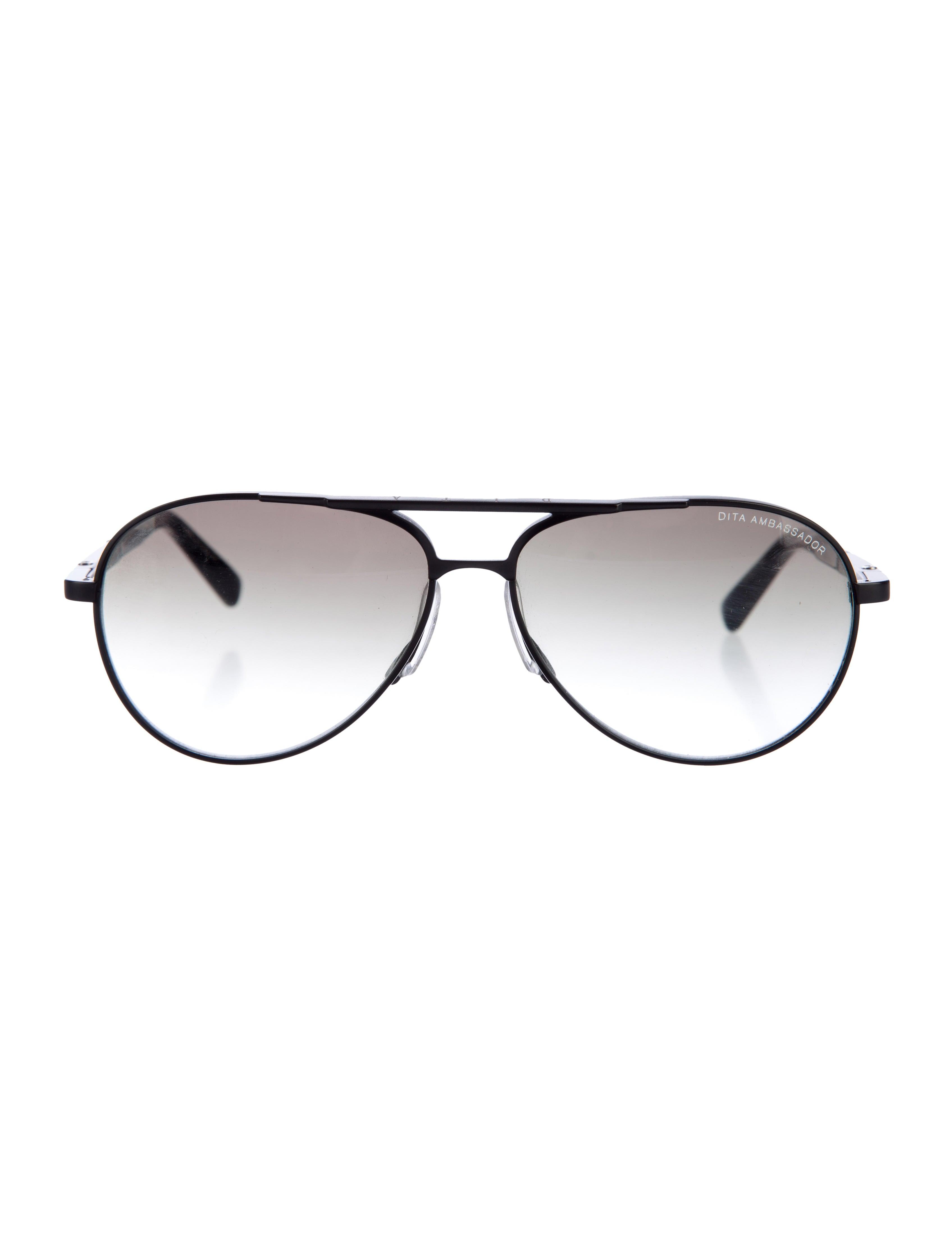 600b22a645e Dita Ambassador Titanium Aviator Sunglasses - Accessories - WDT20562 ...