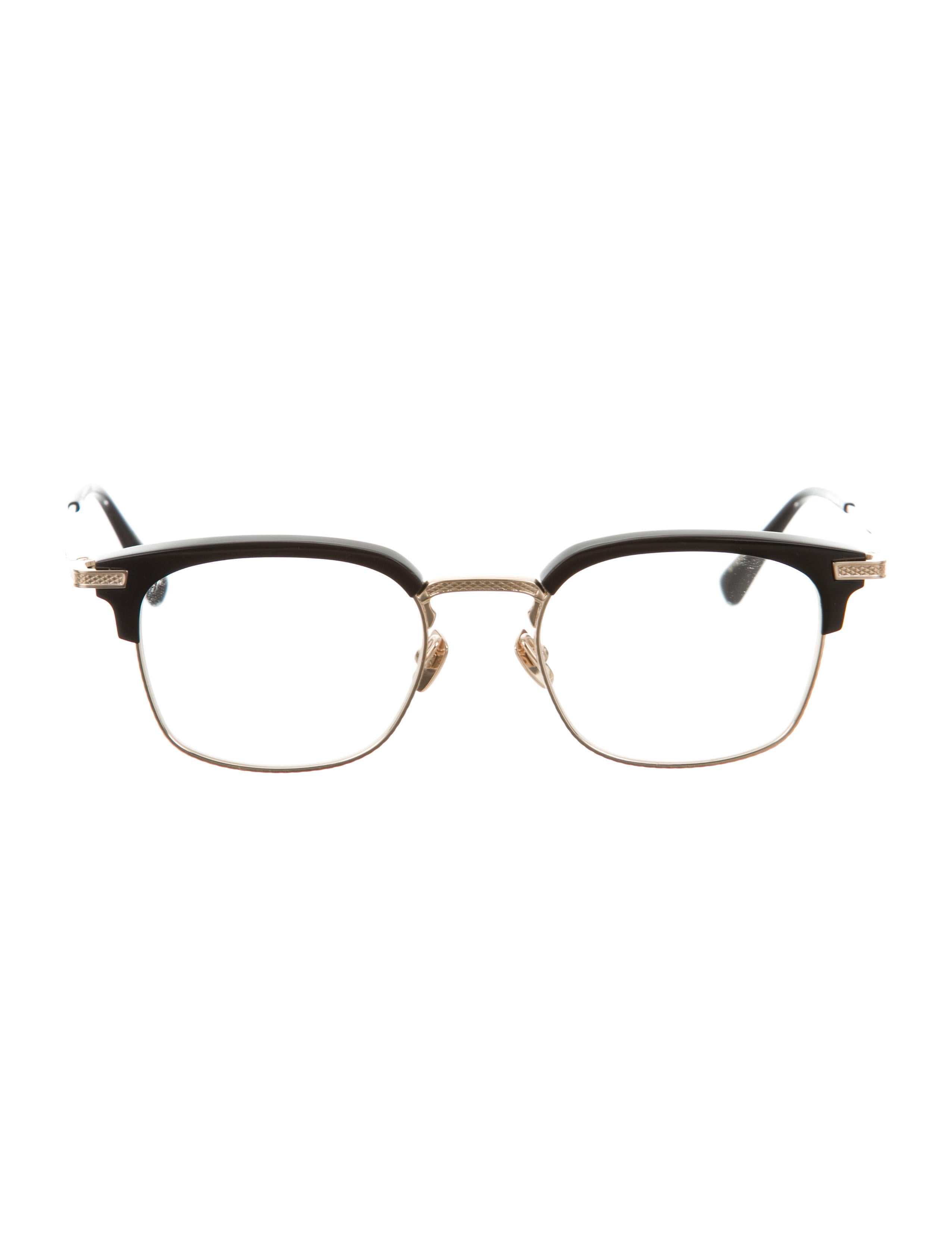 Gold Plated Glasses Frames : Dita Nomad 18K Gold-Plated Eyeglasses - Accessories ...