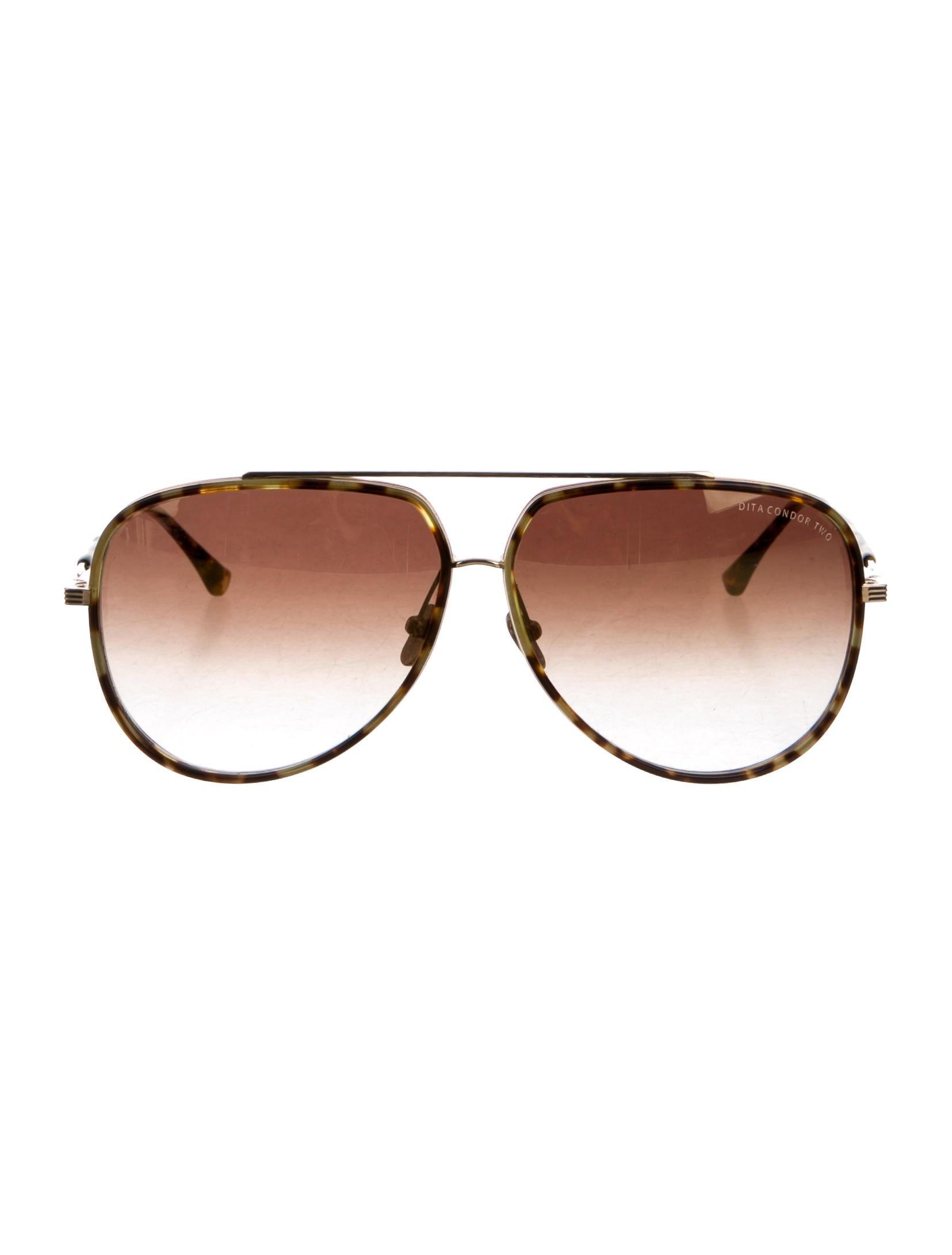 7833606ce6b9 Dita Condor Aviator Sunglasses Pink