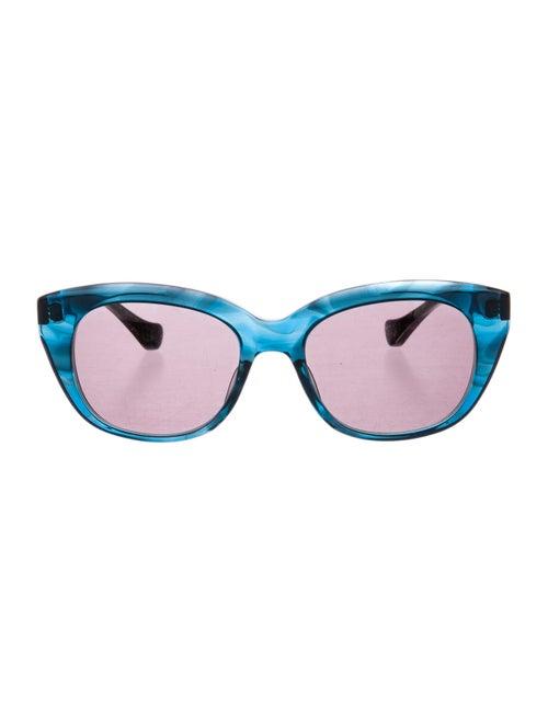 Dita Savoy Cat-Eye Sunglasses Blue