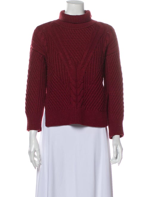 Duffy Wool Turtleneck Sweater Wool - image 1